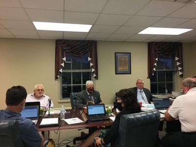 Smyth County School Board meeting