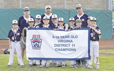 Richlands 8-10 all stars