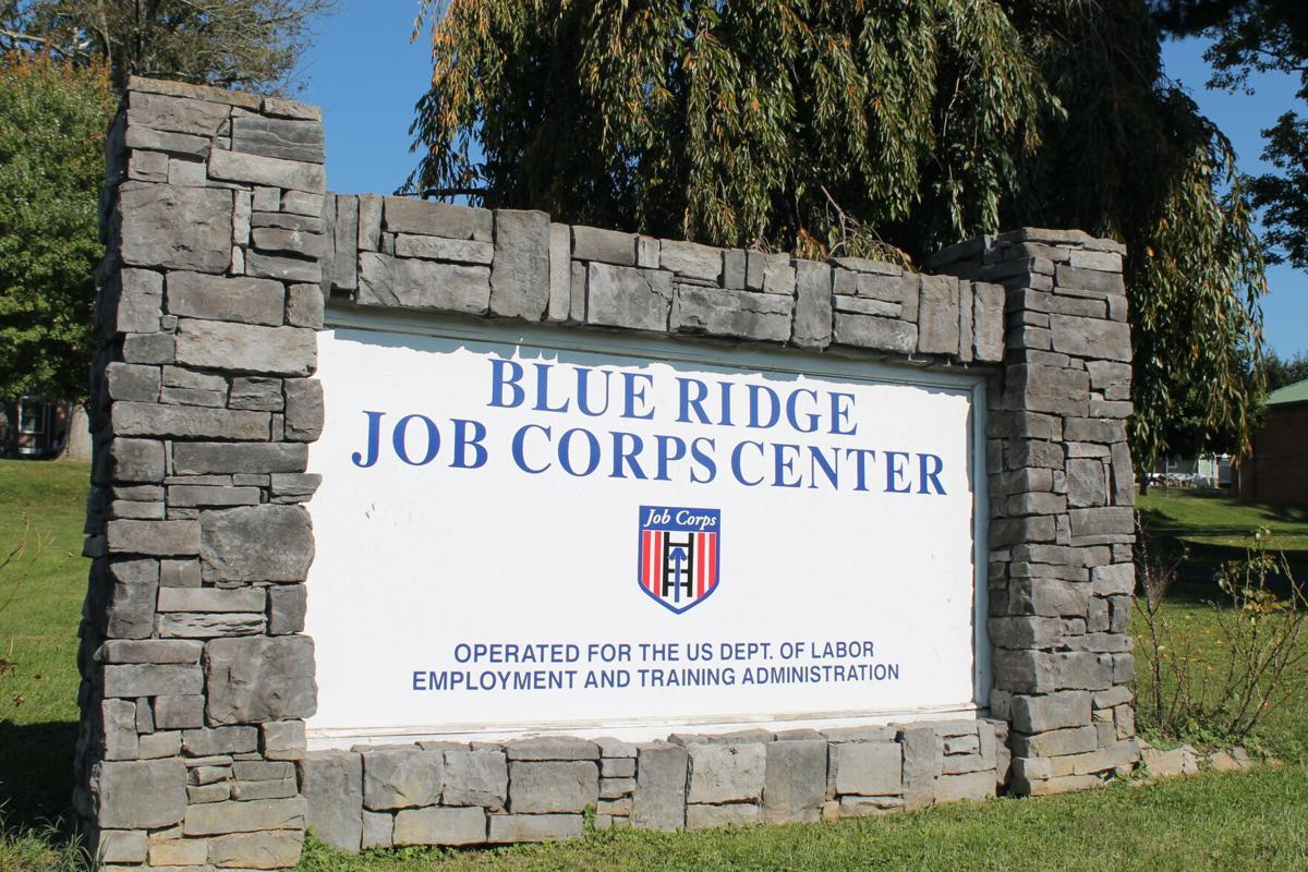 Blue Ridge Job Corps Center sign