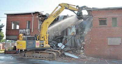 Superior Mills demolition