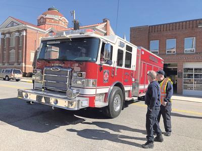 New Wytheville Fire Truck