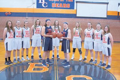 Bland County varsity girls