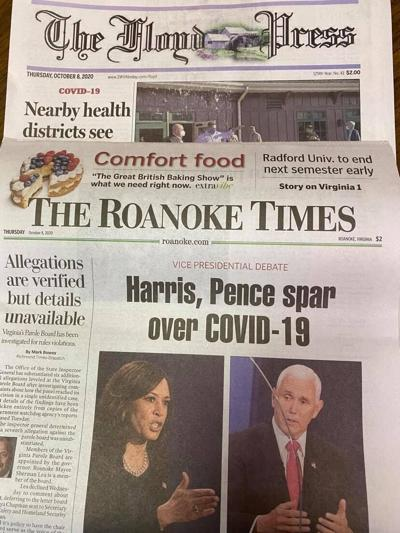 Local papers Floyd Roanoke