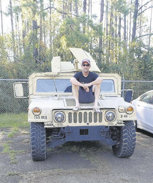 Photo of Adam Morrison  - car