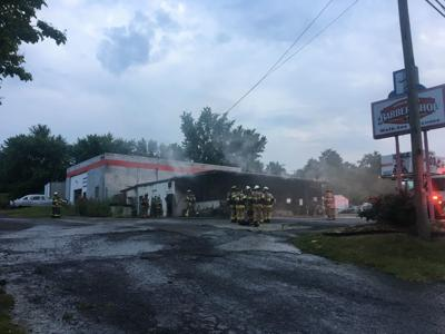 Barbershop Fire
