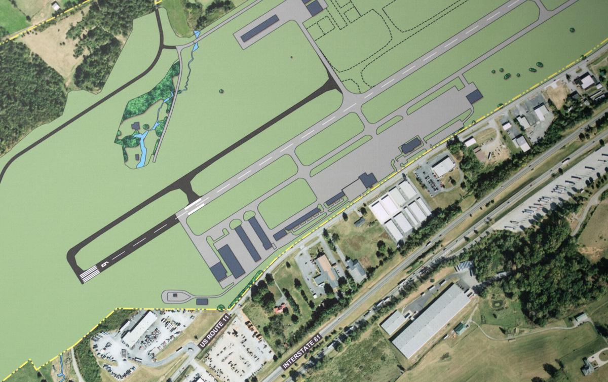 BHC 02142021 Virginia Highlands Airport Runway 05