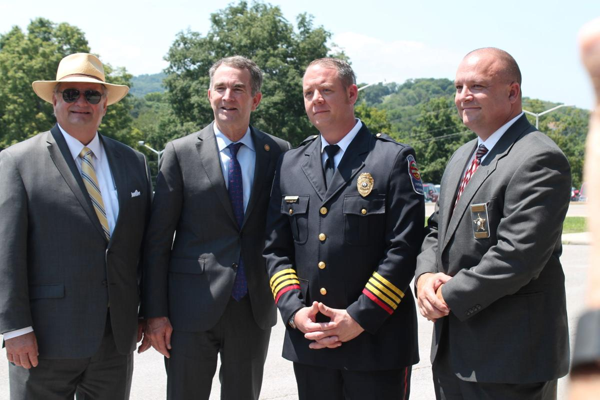 Northam with local police