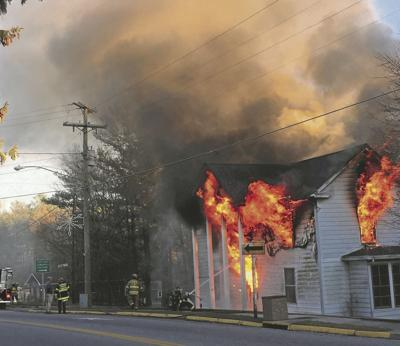 Floyd Fire on Main Street