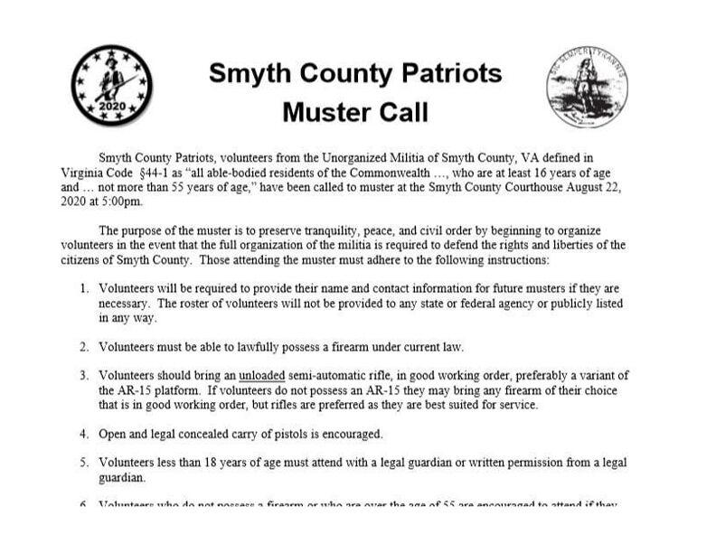 Smyth muster letter 2