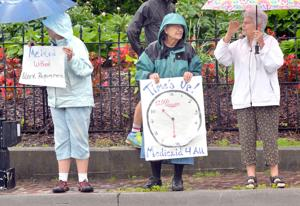 Group rallies for Medicaid expansion in Abingdon