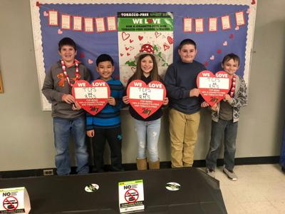 Southwest Virginia Schools celebrating Tobacco Free Spirit Day