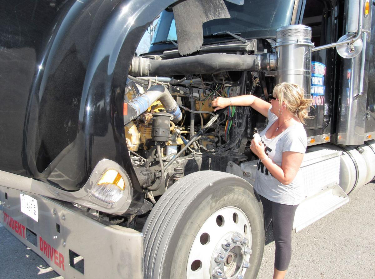 Truck driving training course sees increase in female