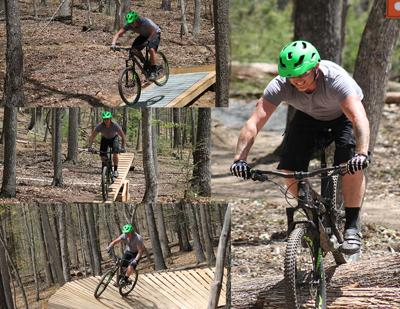 Mountain Bike Collage