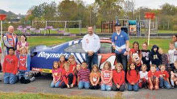 race car drivers mcclure and mcmahan bring message to chilhowie students latest headlines swvatoday com swva today