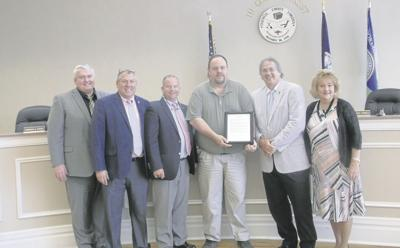 Woodard honored by supervisors