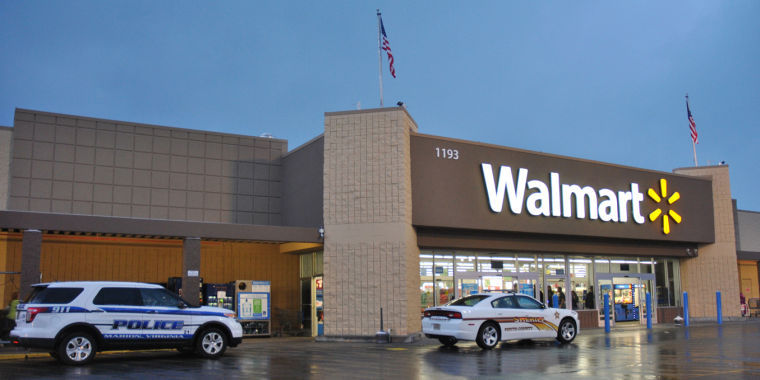 police search marion walmart following bomb threat