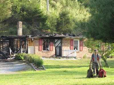 Clear Fork house fire