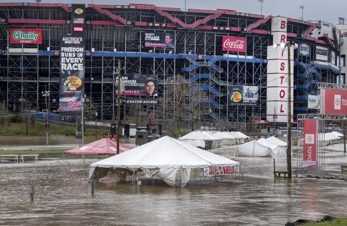 Bristol Motor Speedway Flooding