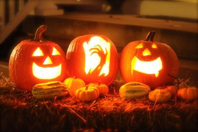 Halloween in Floyd