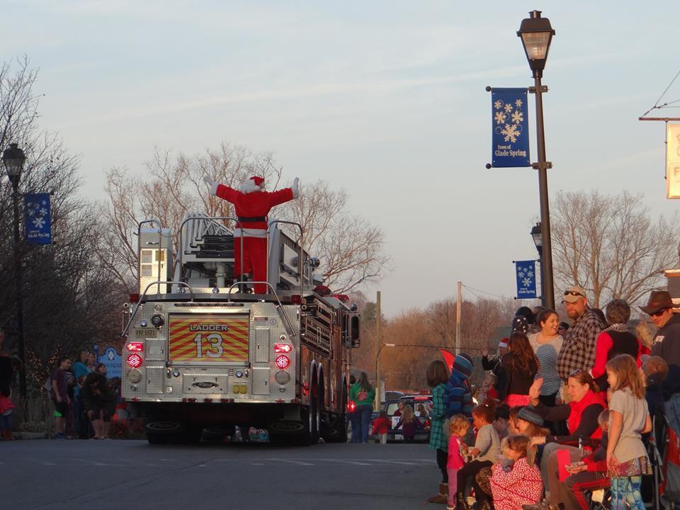 Glade Spring Christmas Parade