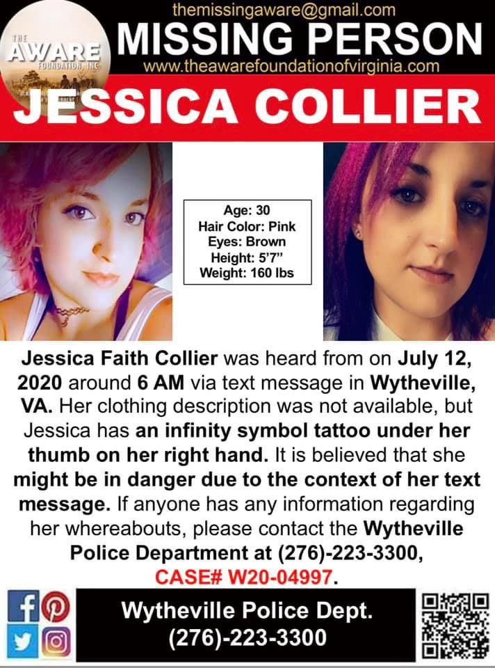 Jessica Collier flyer