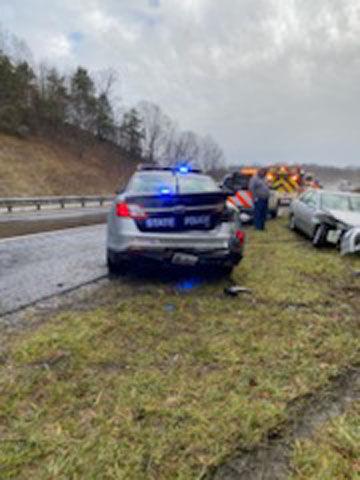 Trooper car wreck