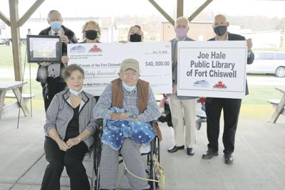 Fort Chiswell Library Donation