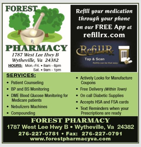 Forest Pharmacy Ad