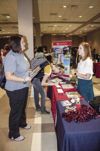 Area high school seniors attend college, career event