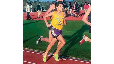 Freshman runner leading Tallassee in 2018