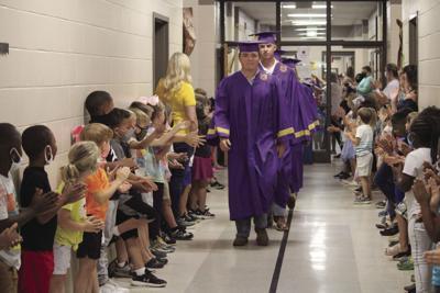 Senior walk through