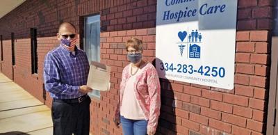 City honors Hospice