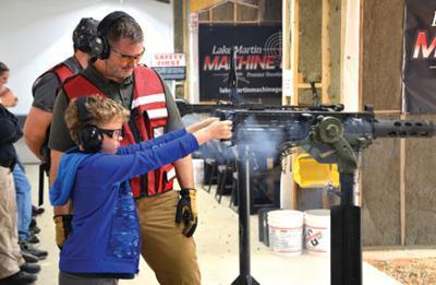 Lake Martin Machine Gun expands to allow range memberships