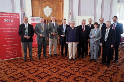 Ivey honors Tallassee's GKN Aerospace for trade excellence