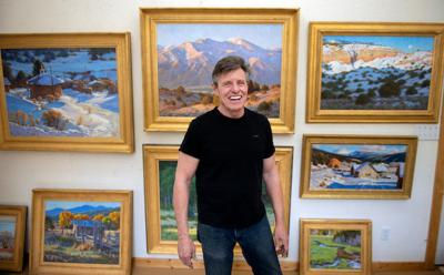 Artist of Taos: Chris Morel