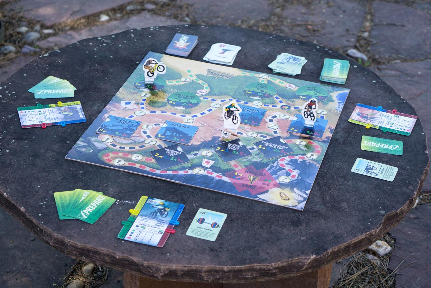 New board game sends Taos mountain bikers success