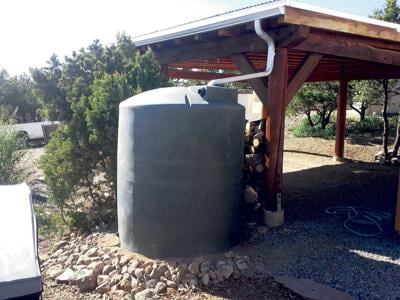 Rainwater harvesting: Catching life in a barrel