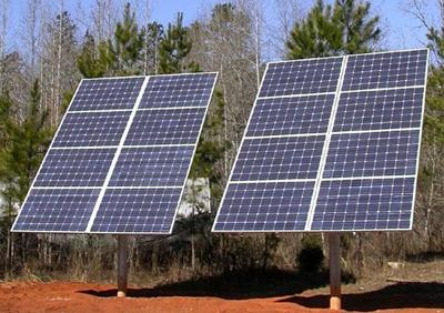 Residential solar power production