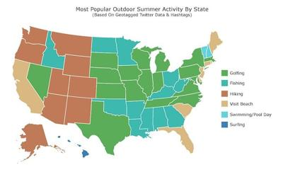 Hiking surges in popularity