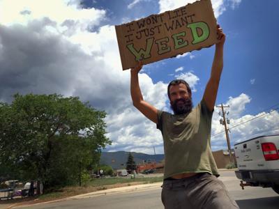 Jeremiah Spelas: Weed Panhandler