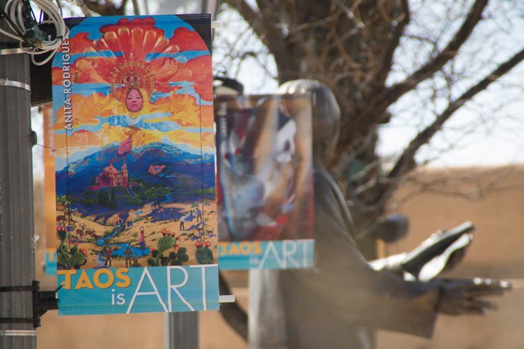 Taos lets its art flag fly