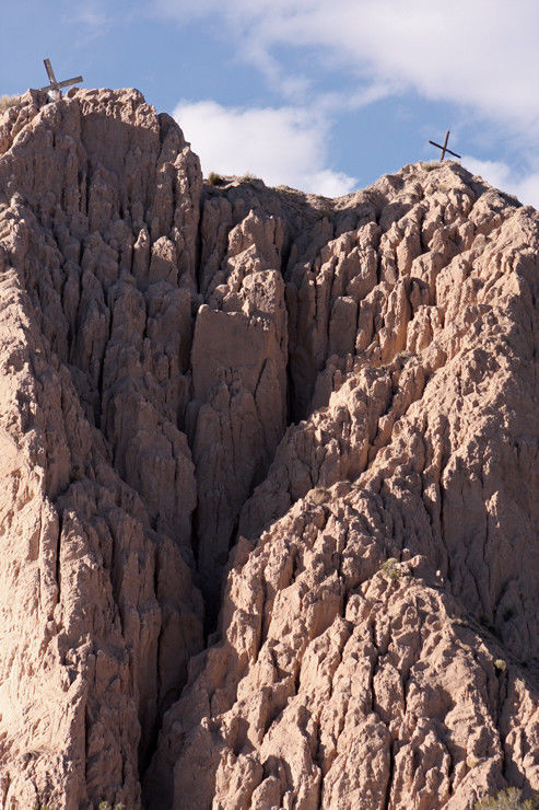 Barrancos Blancos: Mound of mystery, symbol of New Mexico geo-diversity