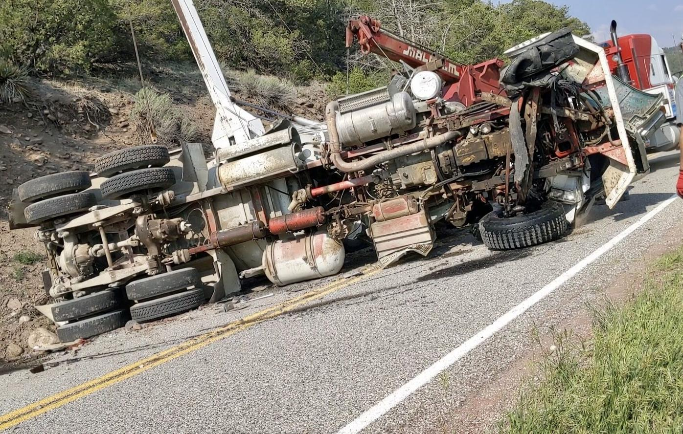 One dead after single vehicle rollover near Peñasco