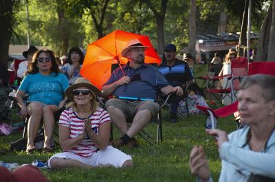 July Fourth 2021 in Kit Carson Park