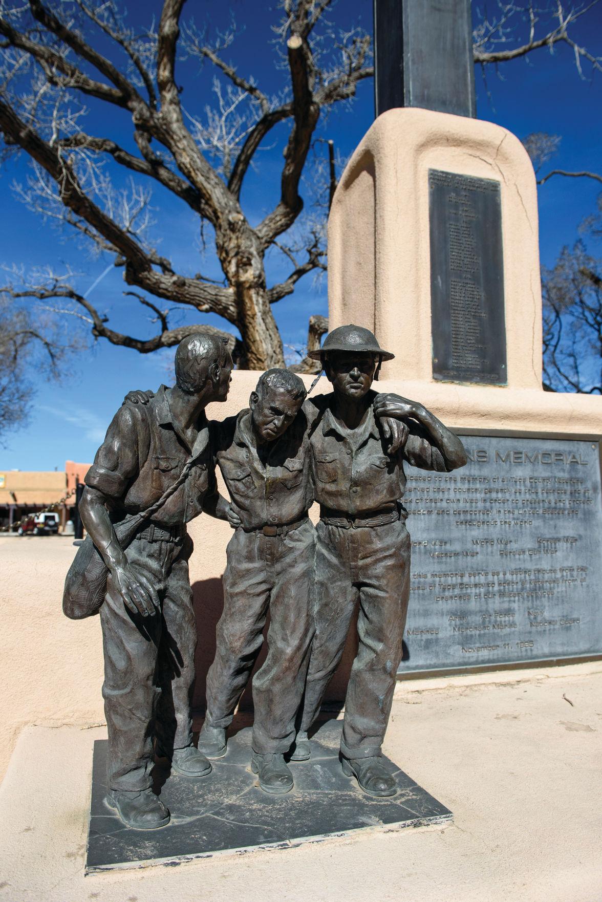 Taos Plaza war memorial cross resurrects church-state debate