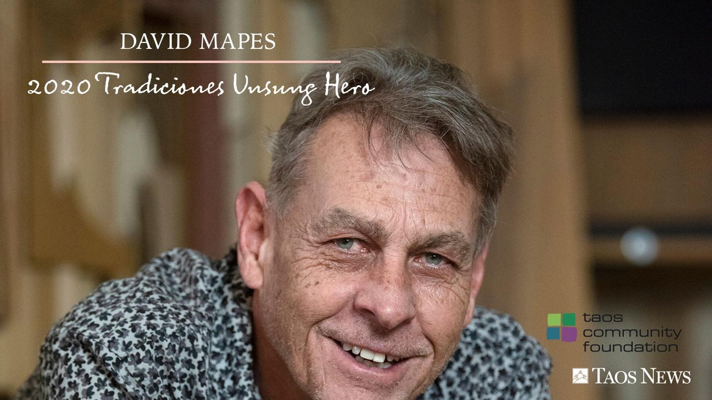 Staying on point: David Mapes