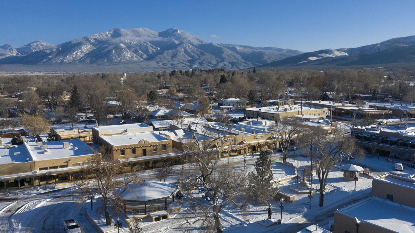 Photo Gallery: Second snowstorm sweeps through Taos