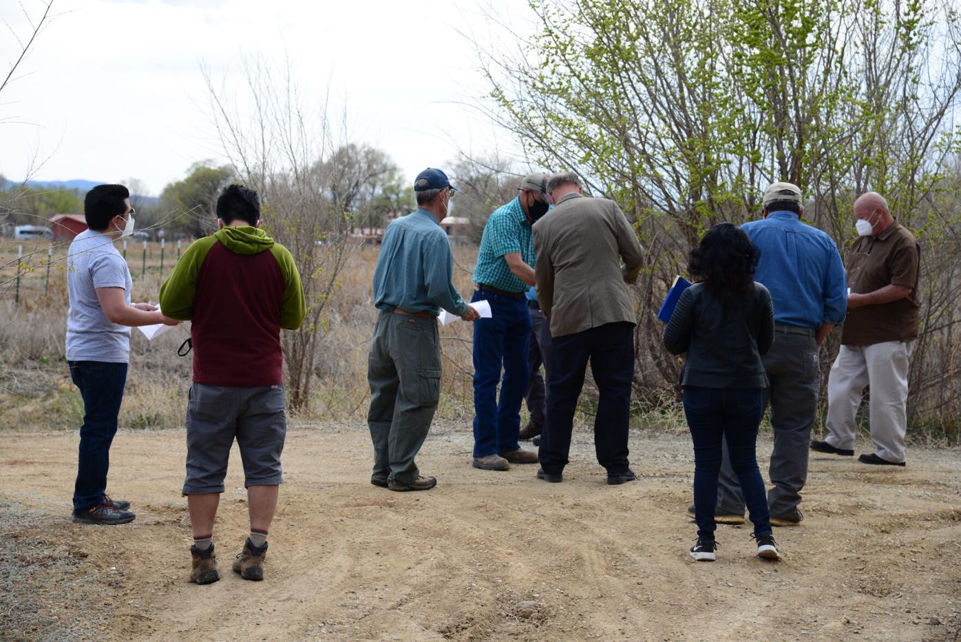 Council visits Camino Fiesta 1