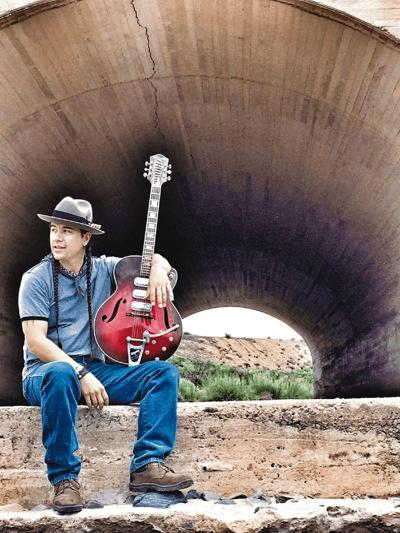 CW Ayon plays west New Mexico blues