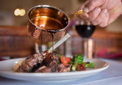 Feel the wintertime heat of great dining in Taos